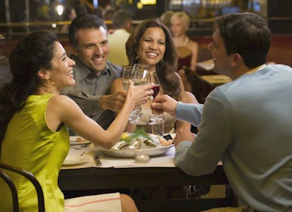 Dine out and have drinks at one of our  signature restaurants.