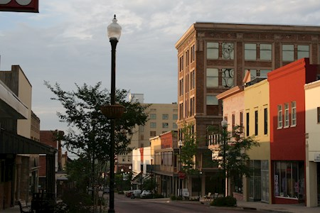 Downtown Vicksburg was named one of the top 10 Main Streets in the USA in 2016.